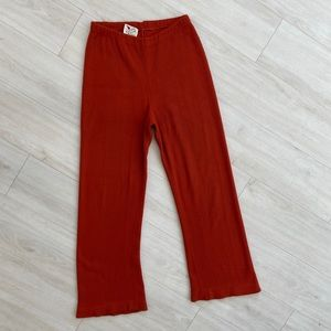 Vintage 1970s herald house ribbed pants